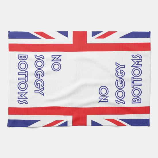 Funny Great British Bake Off Soggy Bottoms Kitchen Towel