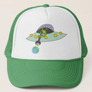 Funny Green Alien Hat