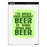 Funny Green Beer Day iPad 3 Skin