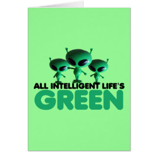 Funny green card