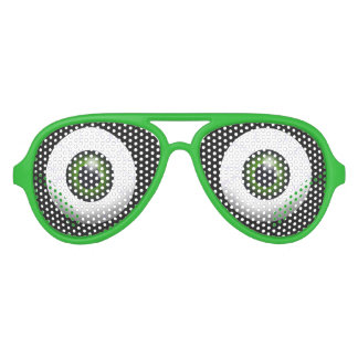 Funny Green Eyes Party Sunglasses