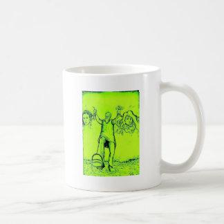 Funny Green Frankenstein Mugs