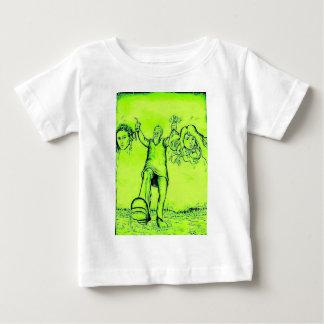 Funny Green Frankenstein T Shirt