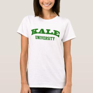 Funny Green Kale University Parody College Vegan T-Shirt