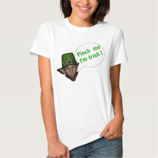 Funny green leprechaun t shirt