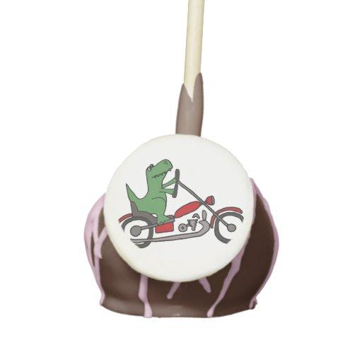 Motorcycle Dino Cake Pop
