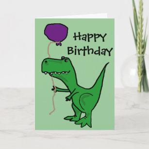 dinosaur birthday cards zazzle