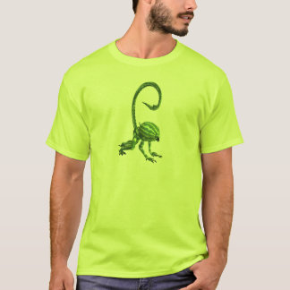 Funny Green Watermelon Monster T-Shirt