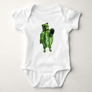 Funny Green Watermelons Bear T Shirt