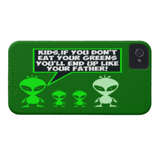 Funny greens iPhone 4 Case-Mate case