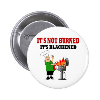 Funny Grill Chef Pinback Buttons