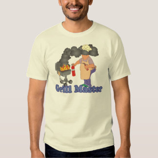 Funny Grill Master Barbecue T Shirt