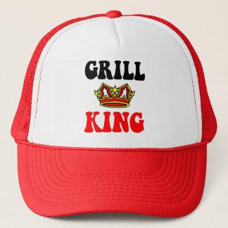 Funny grilling trucker hat