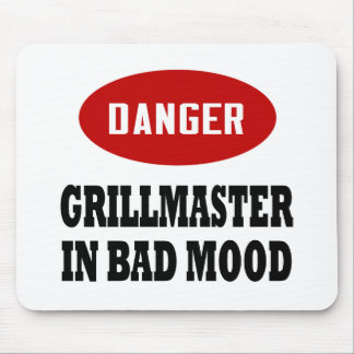 Funny Grillmaster Mouse Pad