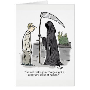 Grim reaper birthday cards greeting photo cards zazzle funny grim reaper birthday card bookmarktalkfo Image collections