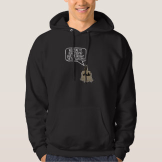 Funny Grizzly Bear Hooded Sweatshirts