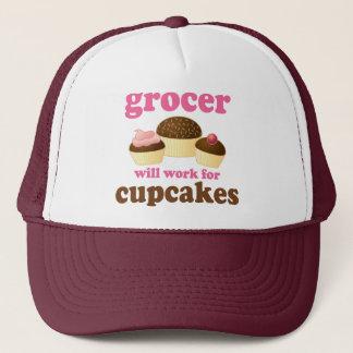 Funny Grocer Trucker Hat