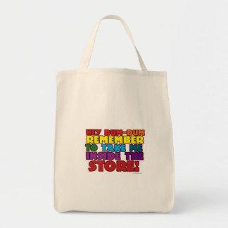 Funny Grocery Bag Reminder