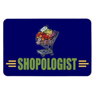 Funny Grocery Shopping Magnet