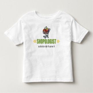 Funny Grocery Shopping Toddler T-shirt