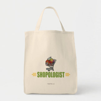 Funny Grocery Shopping Tote Bag