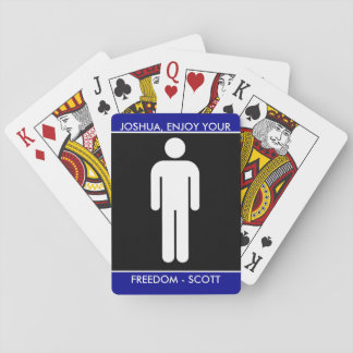 Funny Groomsman Gift Playing Cards