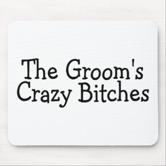 Funny Groomsmen Mouse Pad