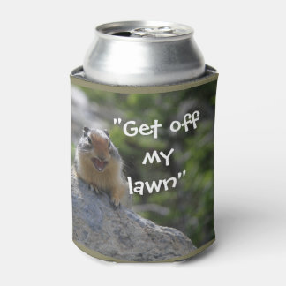 Funny Ground Squirrel Can Cooler