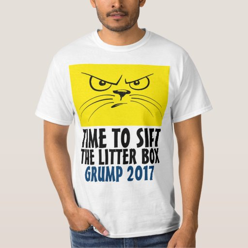 Funny Grumpy Cat Litter Box T-Shirt