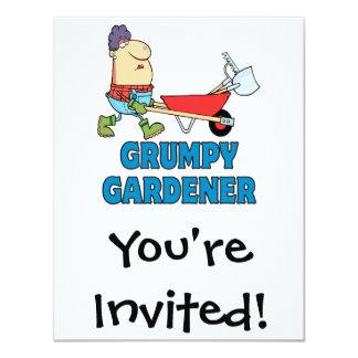funny grumpy gardener lady card