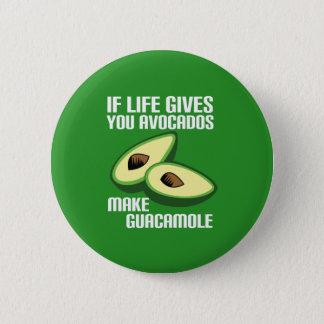 Funny Guacamole Avocado Joke Button