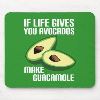 Funny Guacamole Avocado Joke Mouse Pad