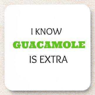 Funny Guacamole EXTRA Coaster