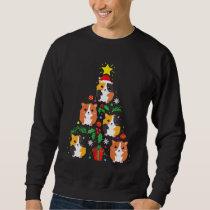 Funny Guinea Pig Lover Christmas Tree Shirt