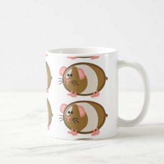 Funny Guinea Pig on White Coffee Mug