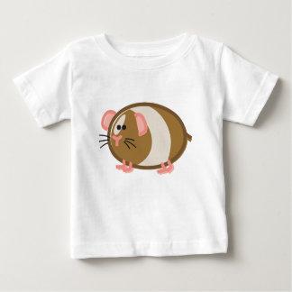 Funny Guinea Pig on White T-shirt