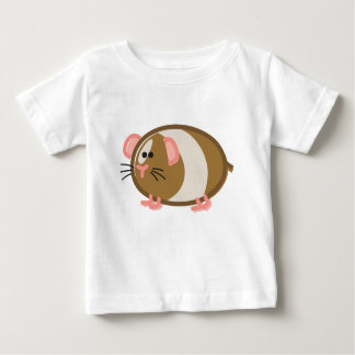 Funny Guinea Pig on White T Shirts