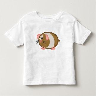 Funny Guinea Pig on White Toddler T-shirt