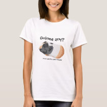 Funny Guinea Pig Picture T-Shirt