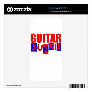 funny guitar decal for the iPhone 4