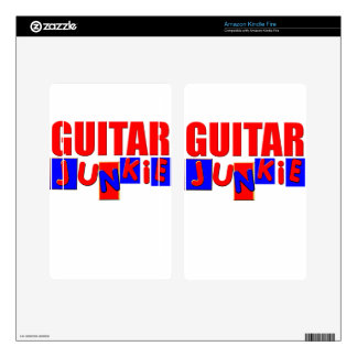 funny guitar kindle fire decals