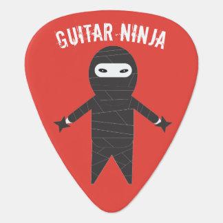 Funny Guitar Ninja Pick