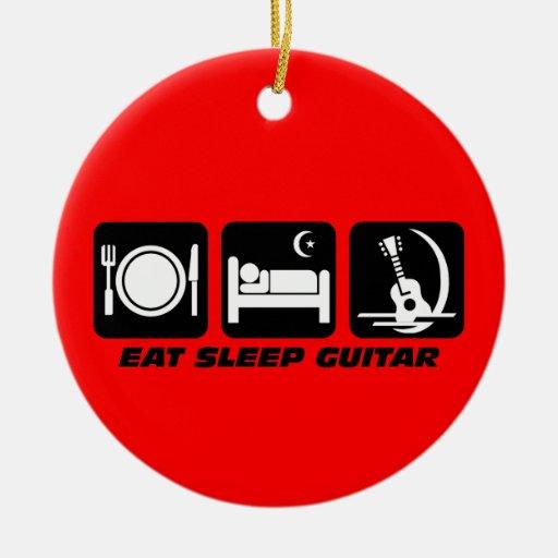 funny guitar christmas ornaments