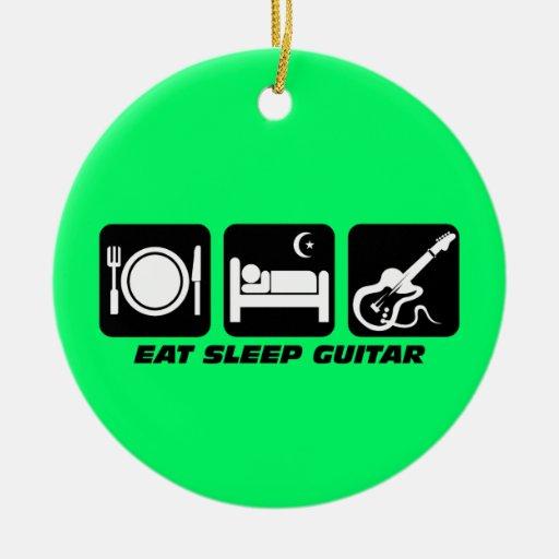 funny guitar ornaments