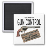 Funny Gun Control Magnet #2