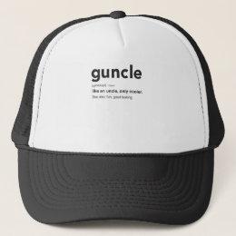 Funny Guncle Definition Print Trucker Hat