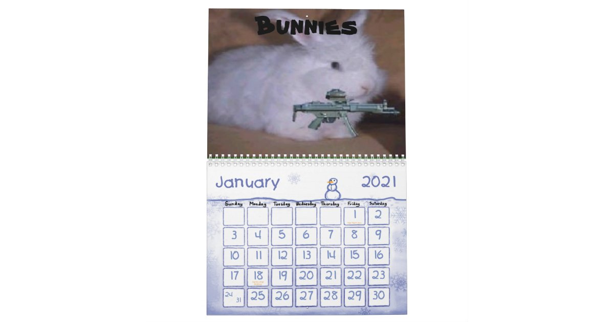 Funny guns Calendar   Zazzle