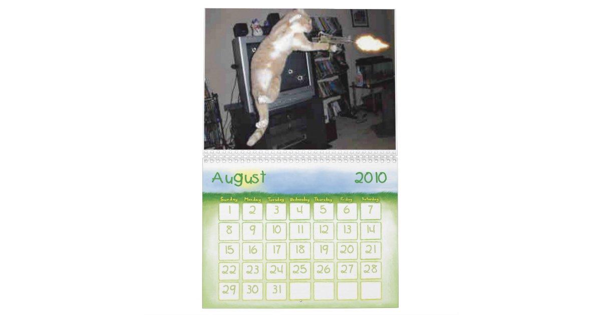 🐱 Cats Calendar - free funny cross stitch pattern. One