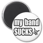 Funny guys girls Punk rock music band humor 2 Inch Round Magnet