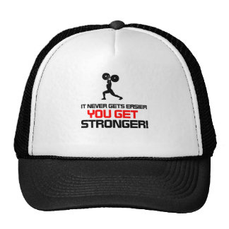 Funny Gym quote design Trucker Hats